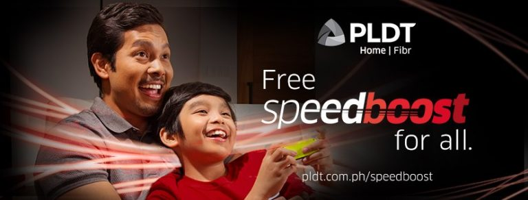 PLDT is rolling out free speed boost for Home Fibr subscribers